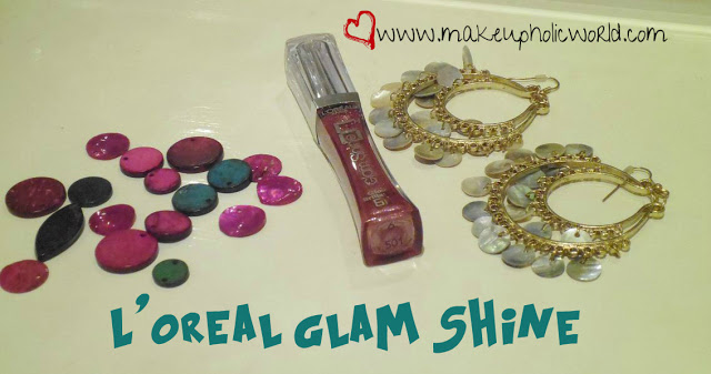 L'Oreal Paris Glam Shine 6H Lip Gloss in  Purple Obsession Review
