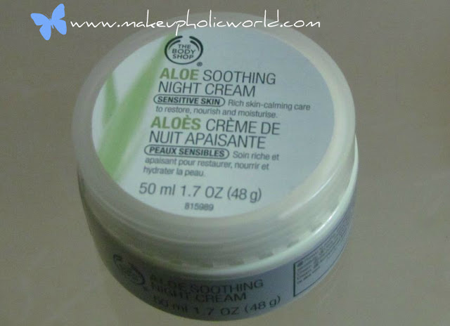 The Body Shop Aloe Soothing Night Cream