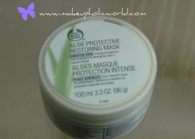 The Body Shop Aloe Protective Restoring Mask