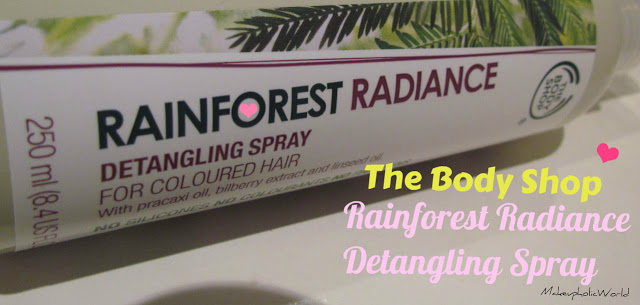 The Body Shop Rainforest Radiance Detangling Spray