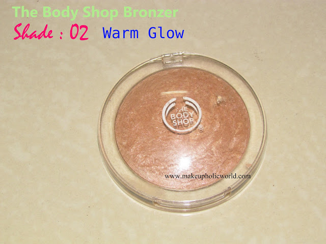 The Body Shop BAKED-TO-LAST BRONZER, Shade:02; Warm Glow