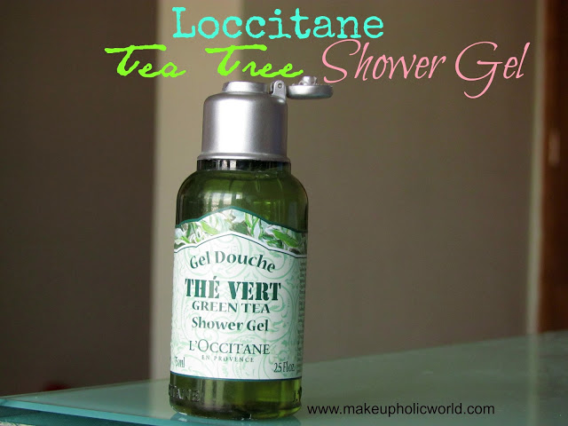 L'occitane Green Tea Shower Gel