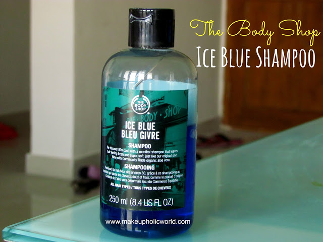 The Body Shop Ice Blue Shampoo
