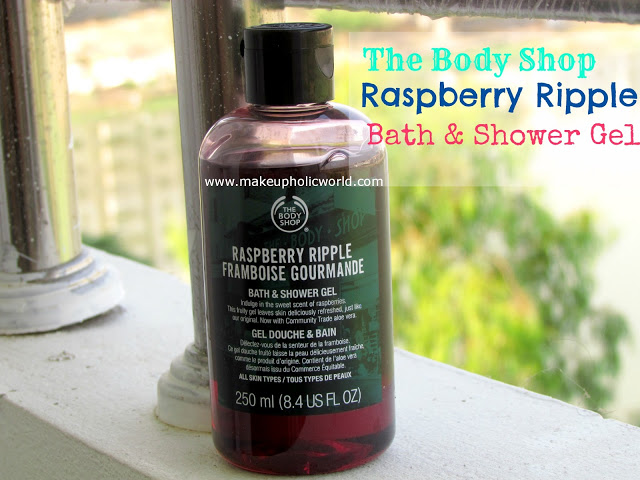 The Body Shop Raspberry Ripple Bath and Shower Gel