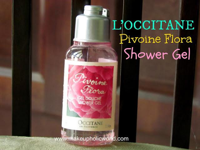 Lóccitane  Pivoine Flora Shower Gel