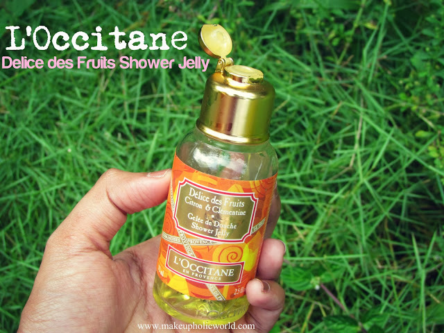 Loccitane Delice des Fruits Shower Jelly
