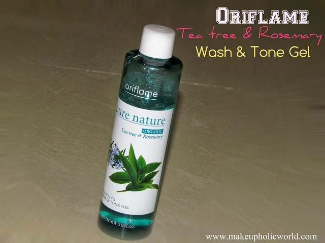 Oriflame Tea tree & Rosemary Wash & Tone Gel