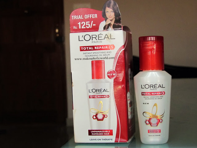 L'Oreal Paris Total Repair 5 Instant Smoothing And Nourishing Serum