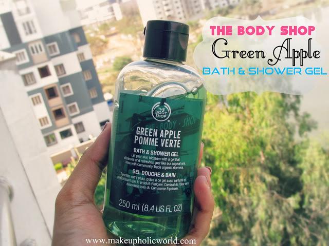 The Body Shop Green Apple Bath And Shower Gel