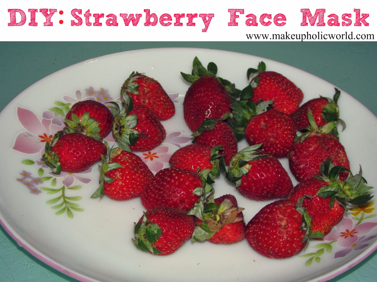 DIY: How to make a Strawberry Facial Mask at Home