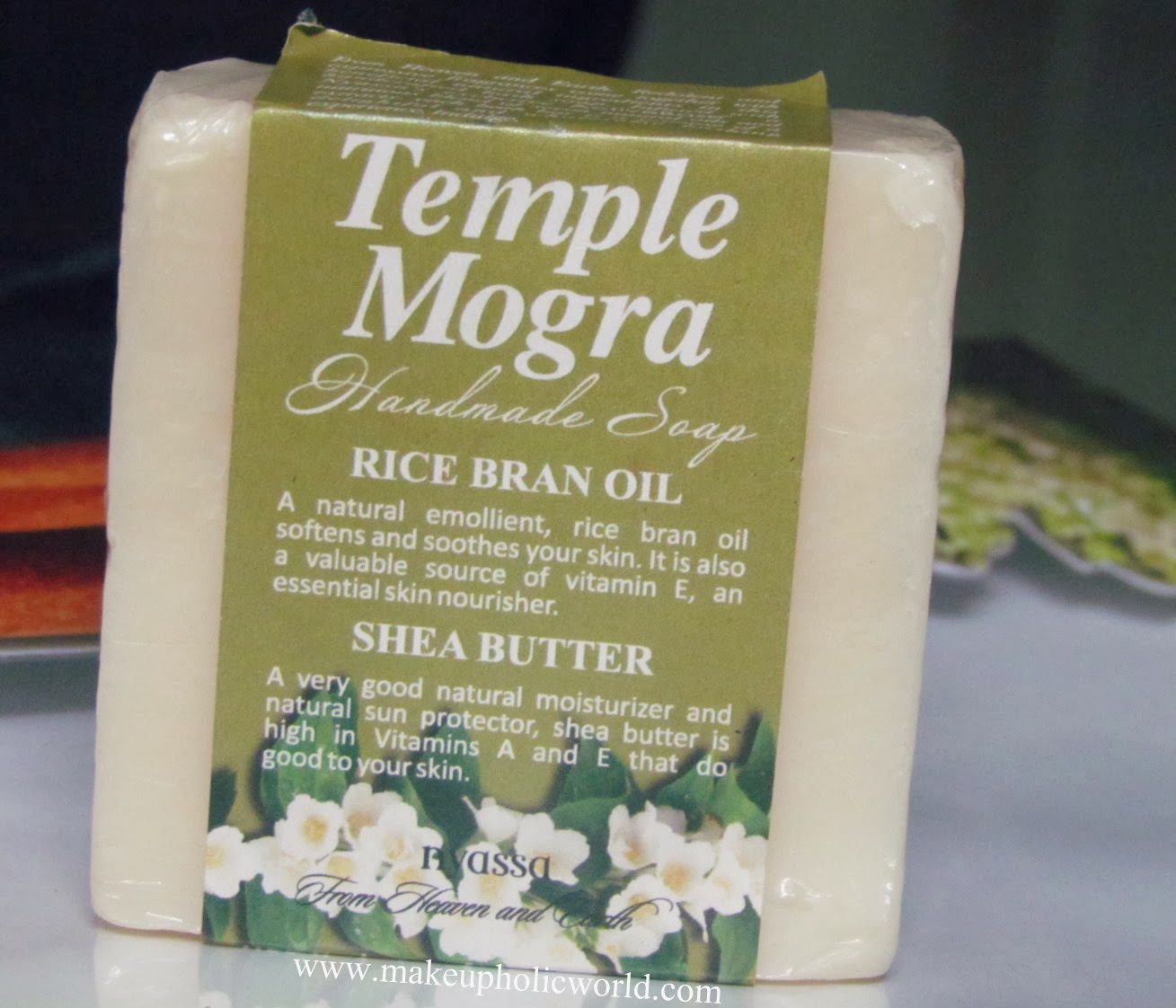 Nyassa Temple Mogra Hand Made Soap