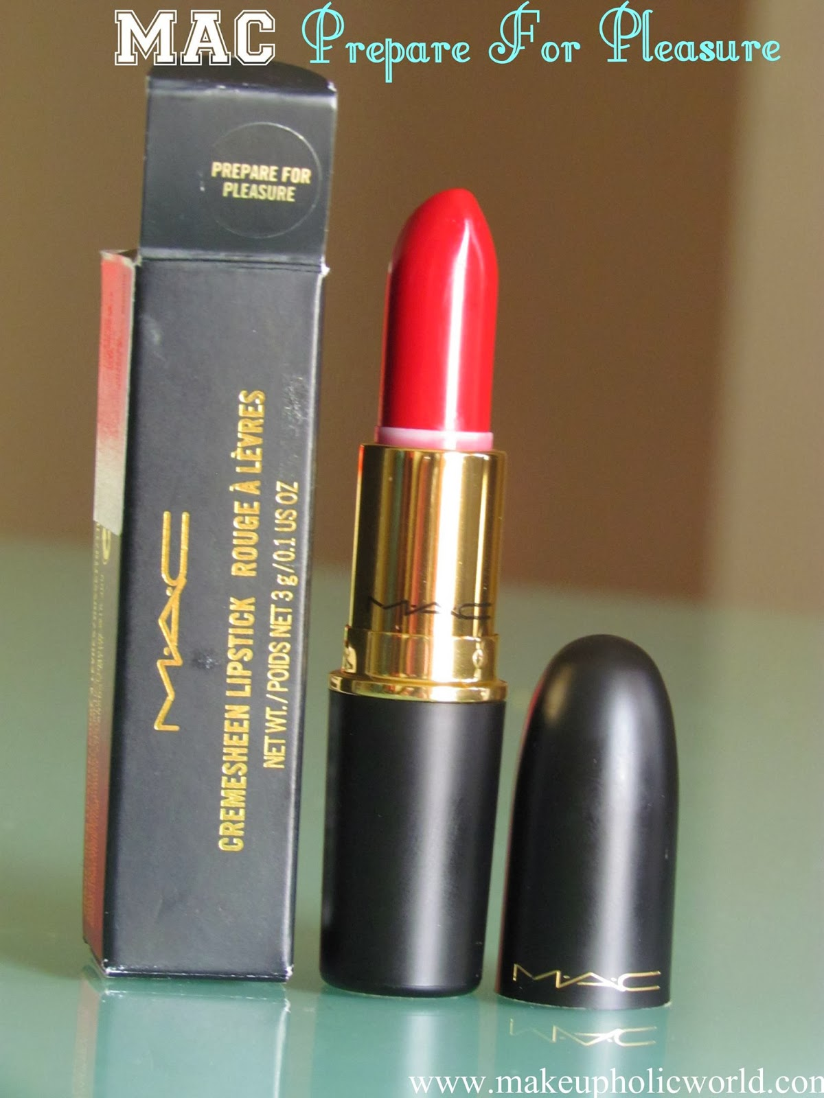 MAC Cremesheen Lipstick – Prepare For Pleasure