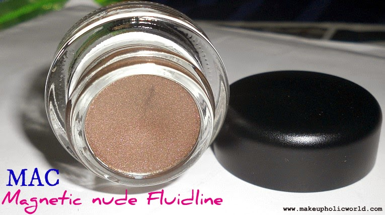 MAC Magnetic Nude Fluidline: It's Physical- Review, Swatches & EOTDs