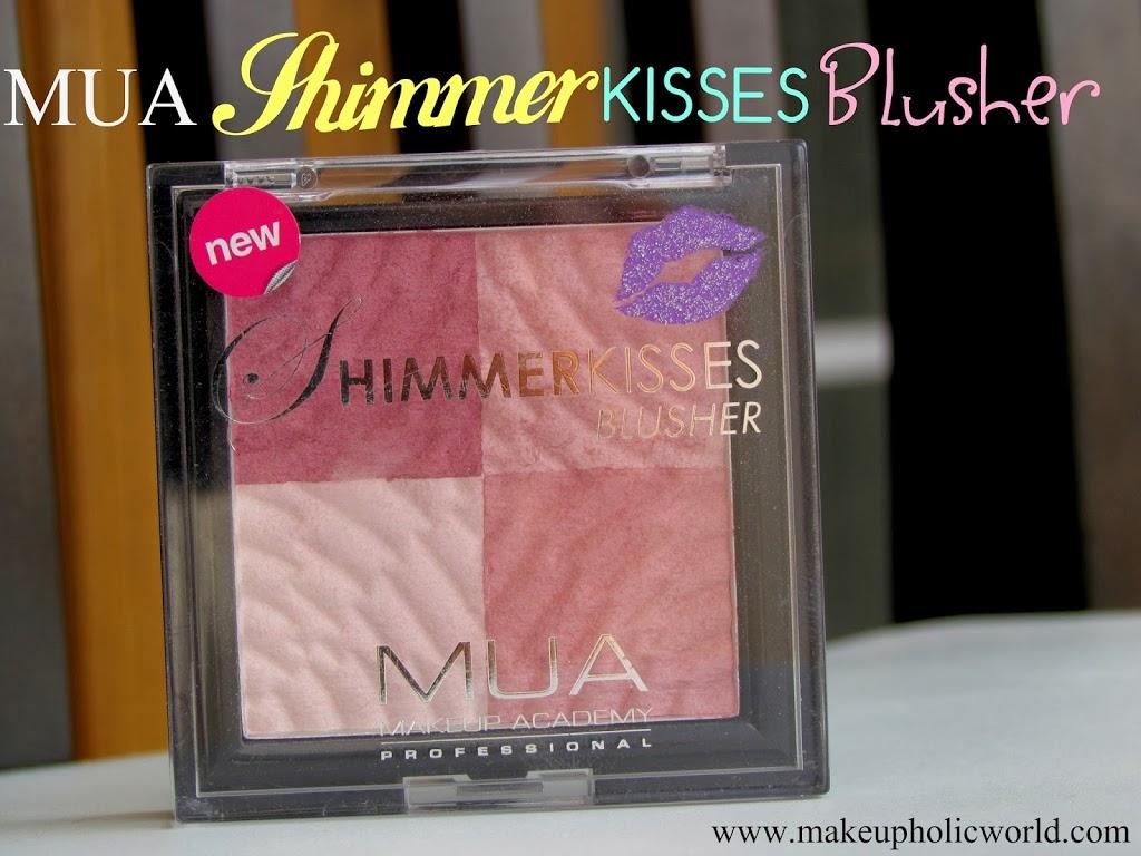 MUA Shimmer Kisses Blusher in 'Pink Shimmer Kisses'