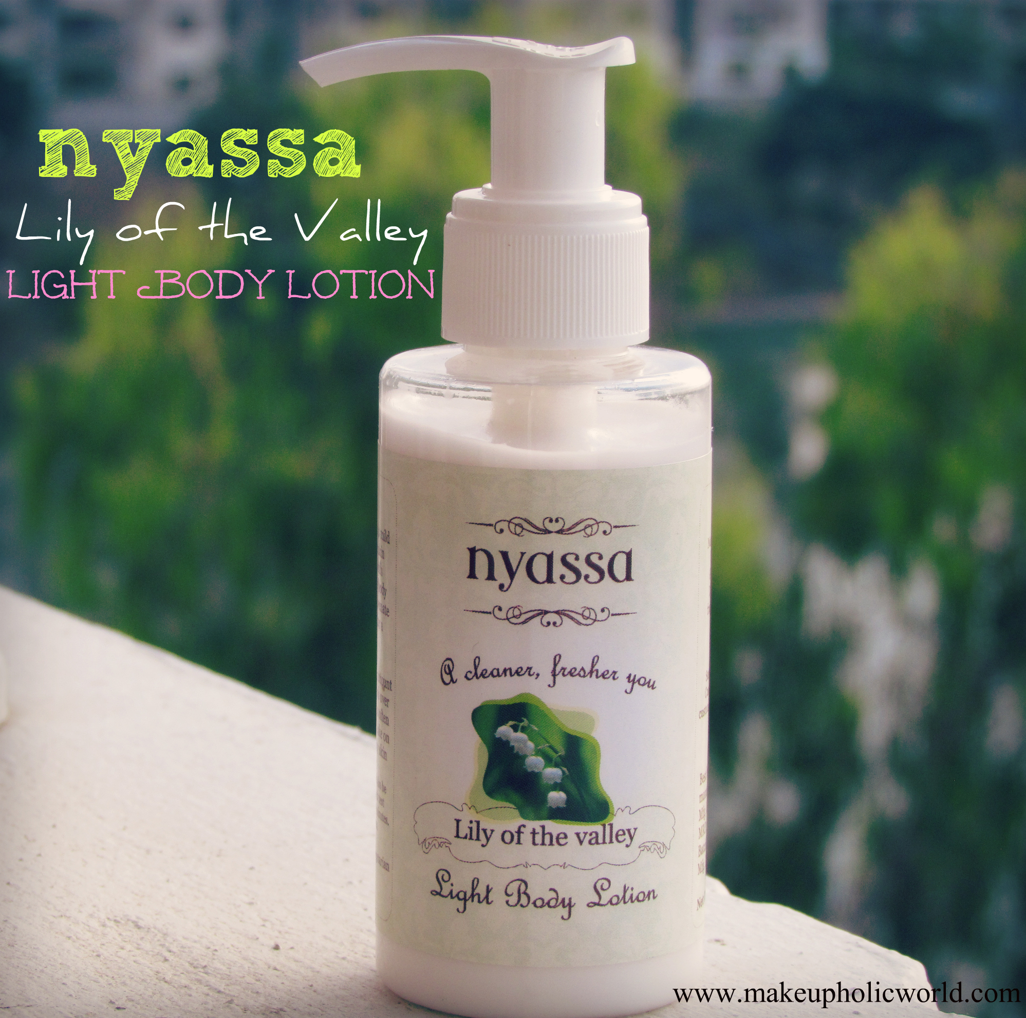 Nyassa Lily of the Valley Light body Lotion