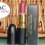 MAC Lipstick – Private Party