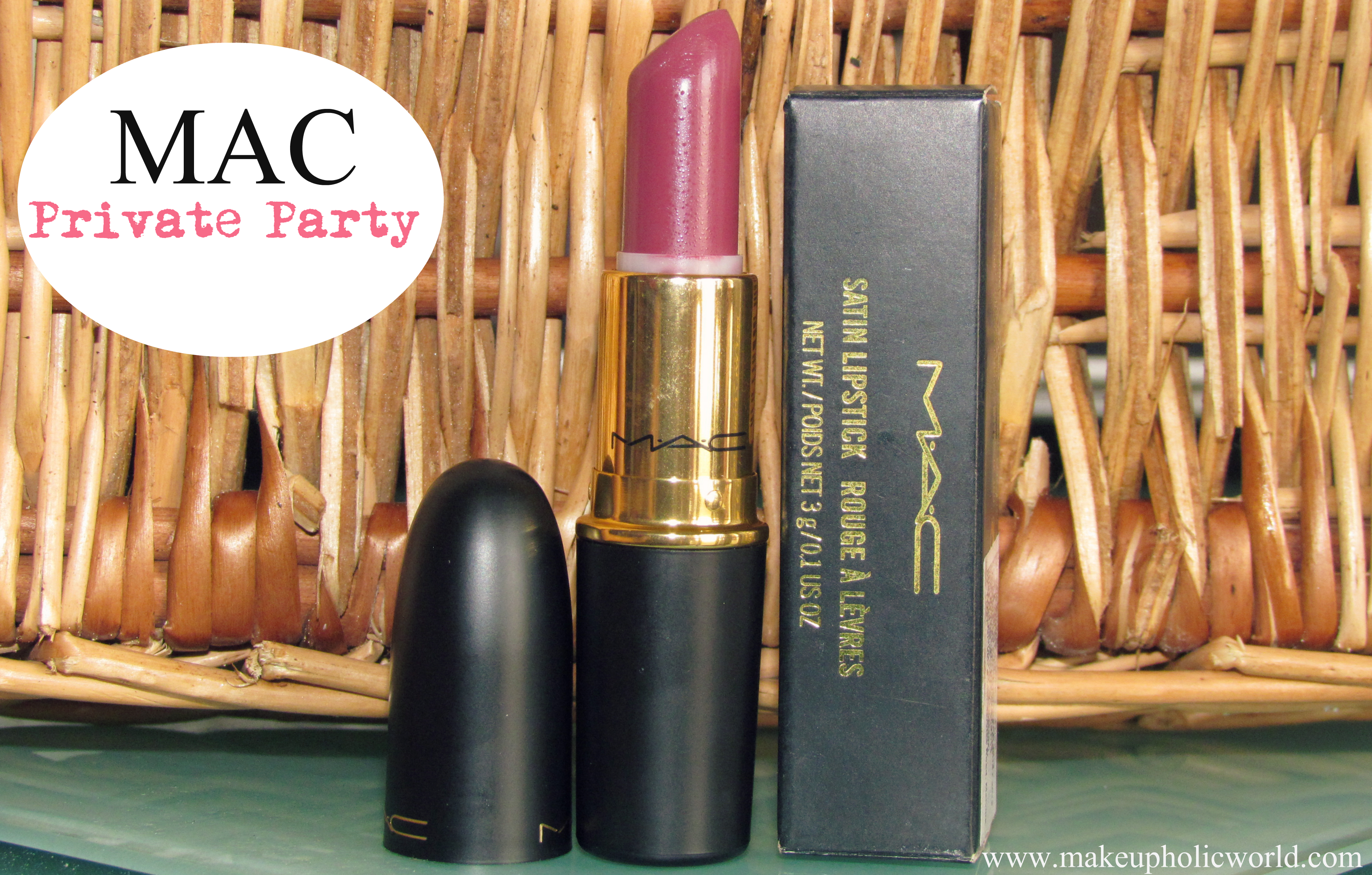 MAC Lipstick – Private Party