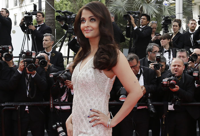 Cannes Diaries: Aishwarya Rai in a Roberto Cavalli fishtail gown after her golden moment at Cannes 2014
