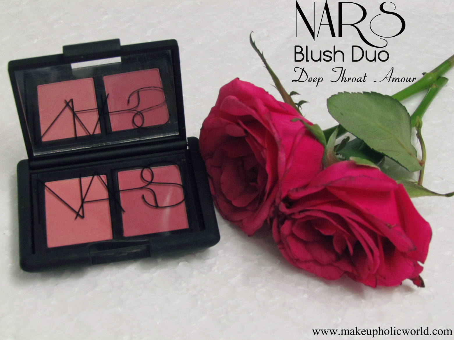 "NARS Blush Duo – ""Deep Throat/Amour"""