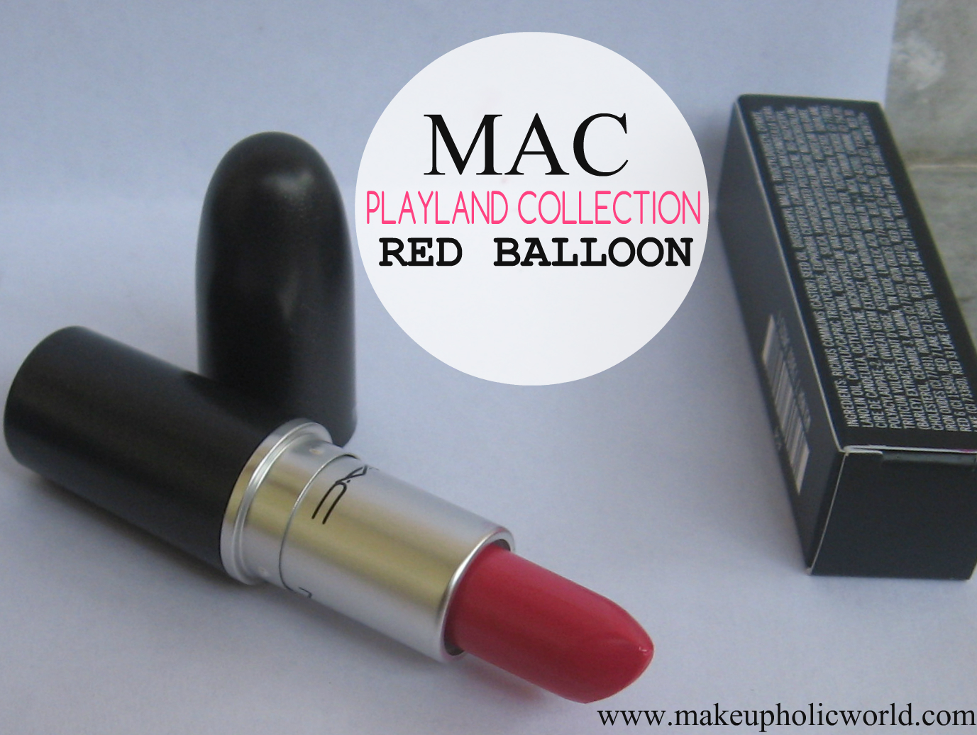 MAC Playland Collection Lipstick- Red Balloon