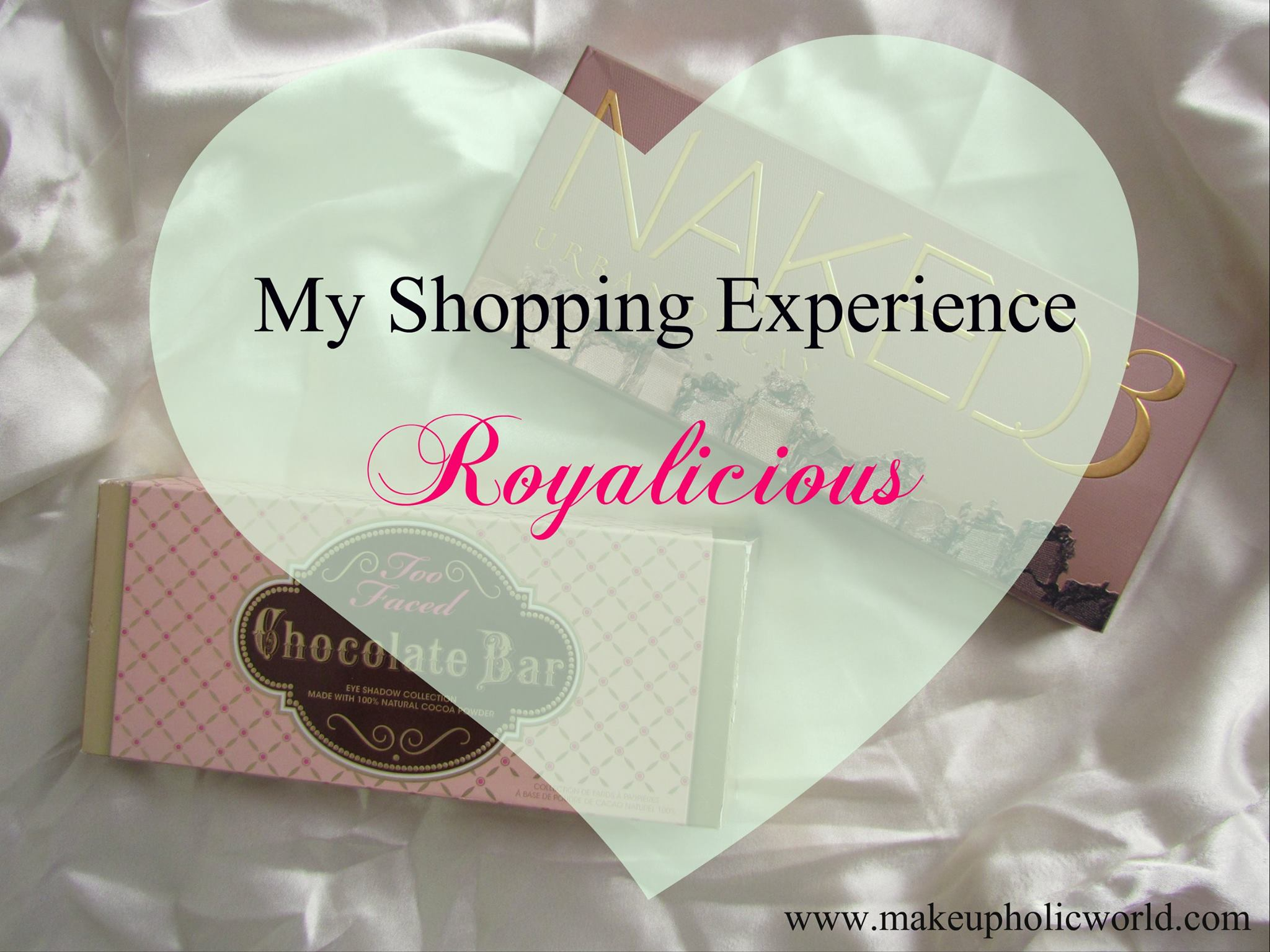 Looking to Purchase Urban Decay & Too Faced Products in India? Read my full haul post from Royalicious1