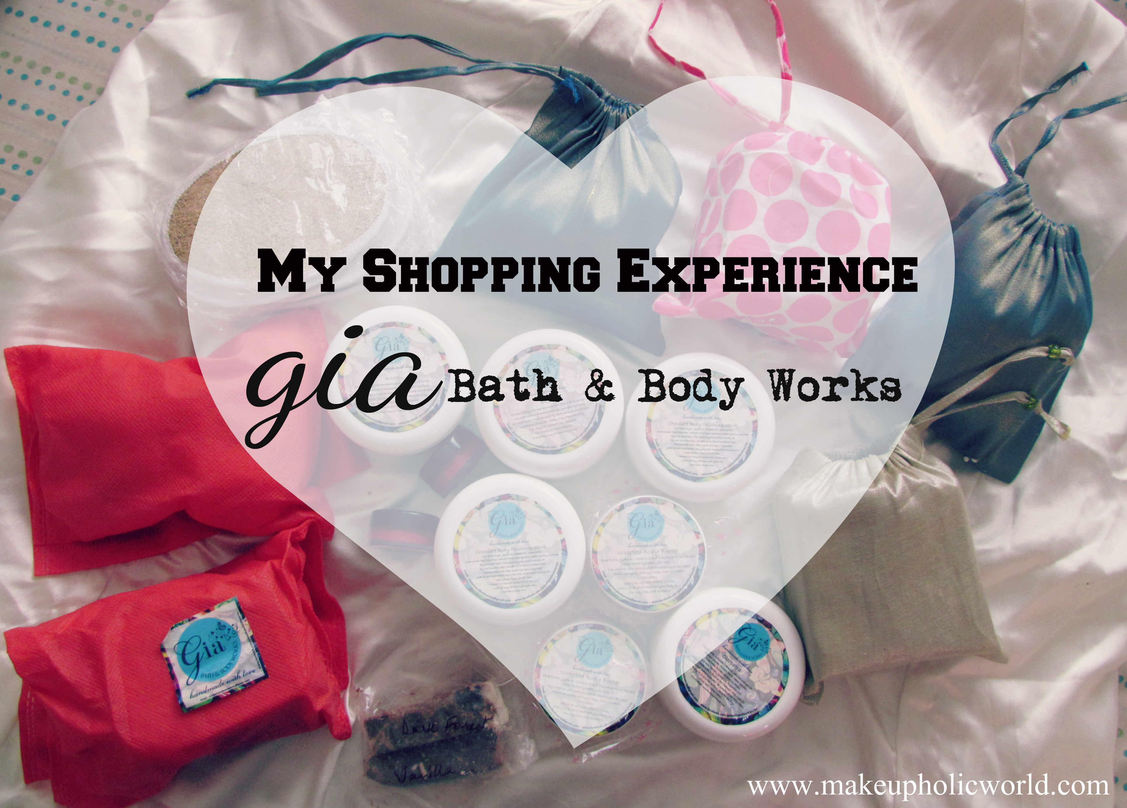 My Shopping Experience: Gia Bath & Body Works