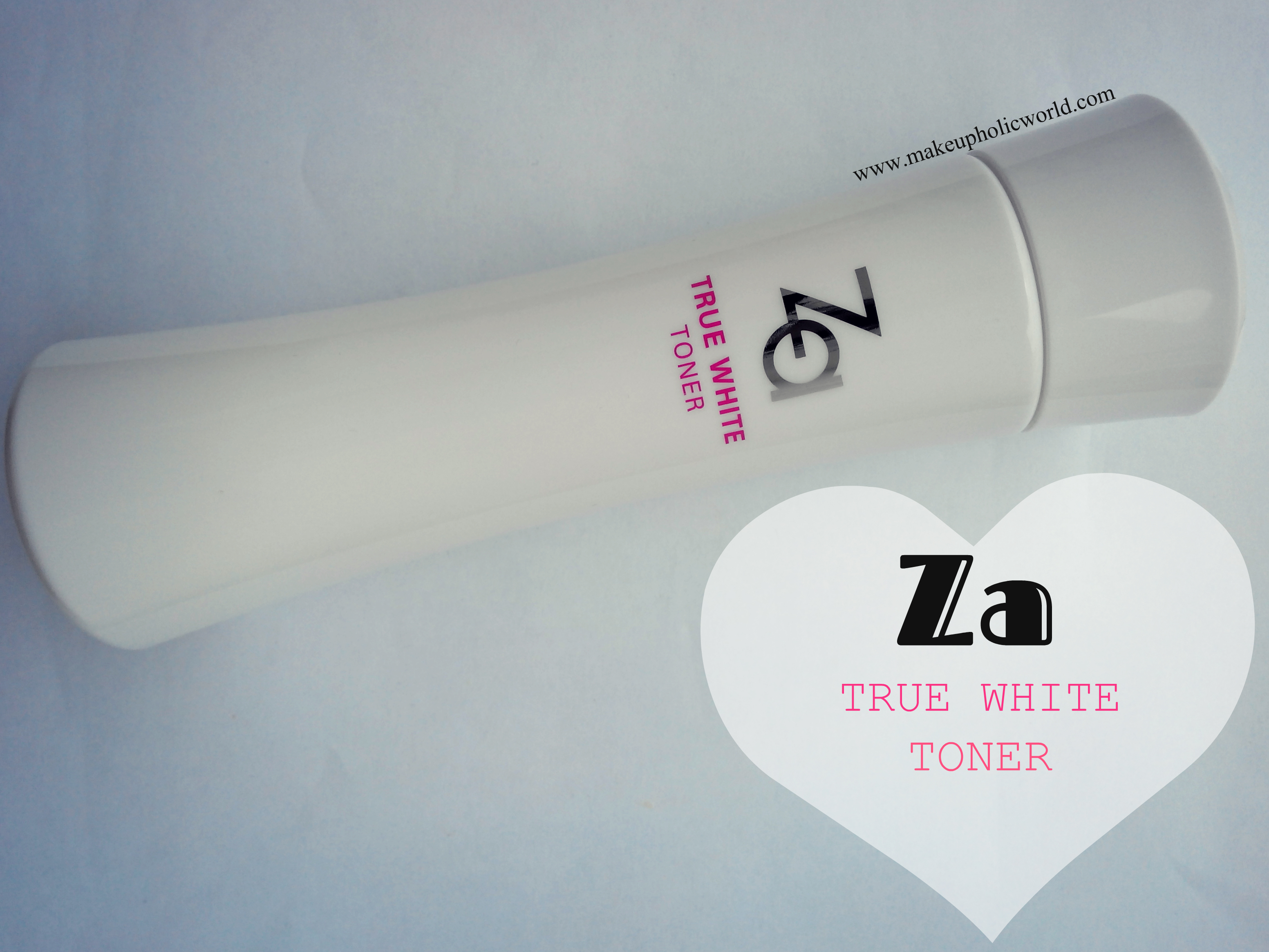 Za True White Toner – From the very own Shiseido