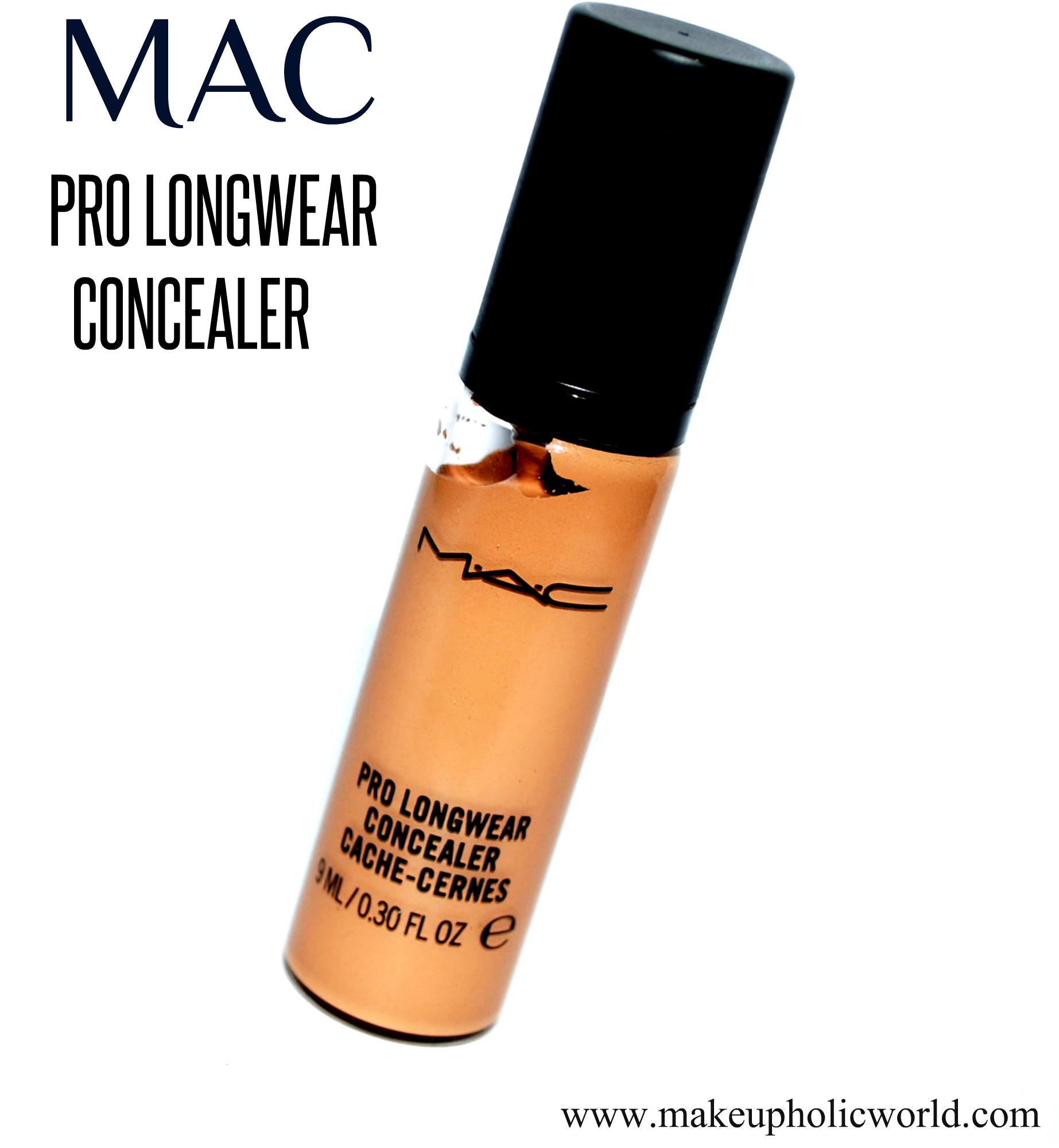 mac pro longwear concealer bottle