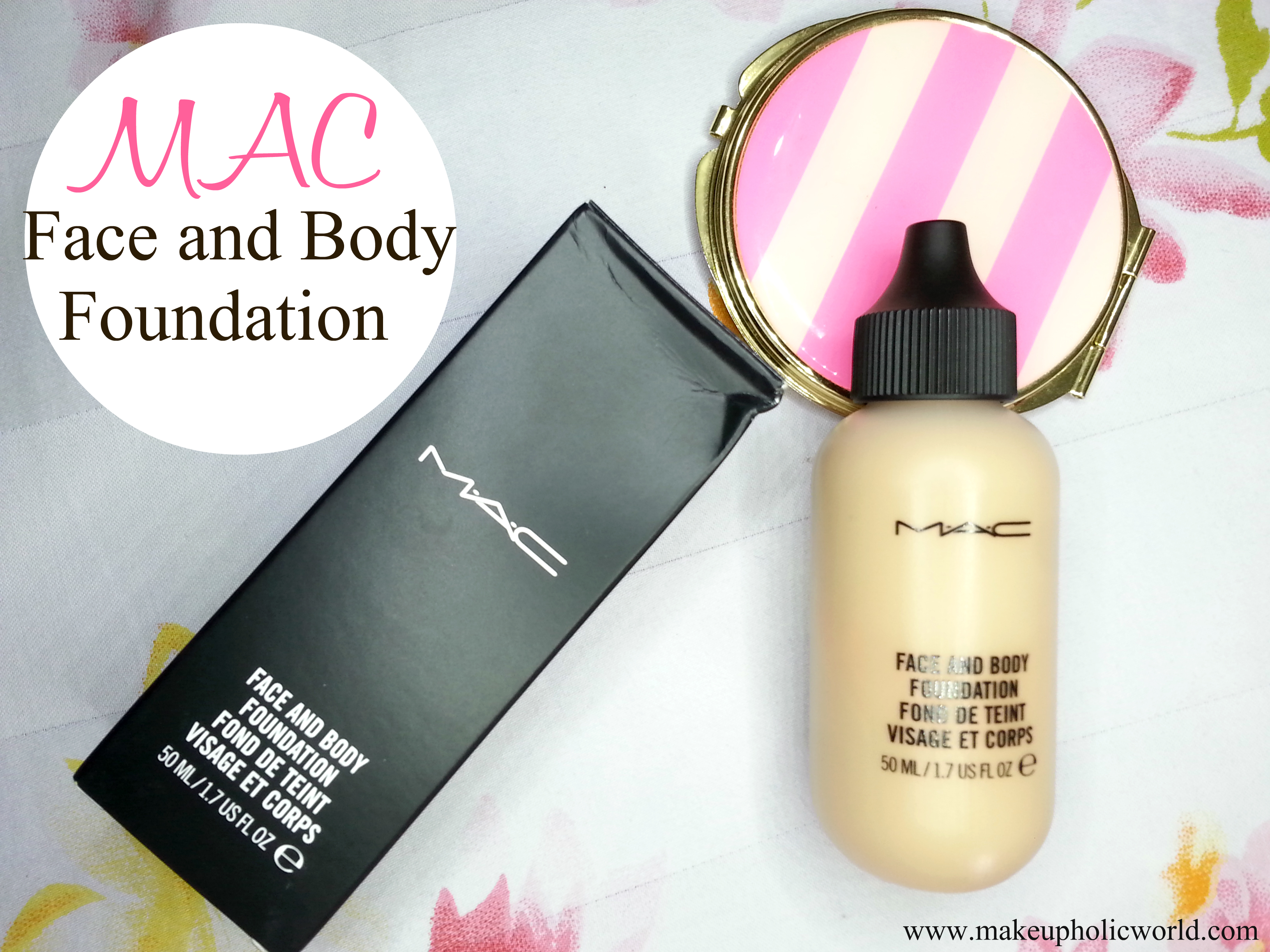 MAC face and body foundation review: C3
