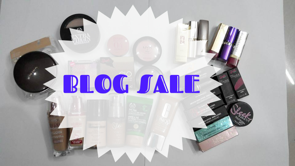 BLOG SALE – MAC, SLEEK MAKEUP, YSL etc