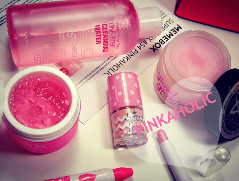 MEMEBOX SUPERBOX #54 PINKAHOLIC