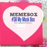 Unboxing Memebox Special # 38 My Mask Box