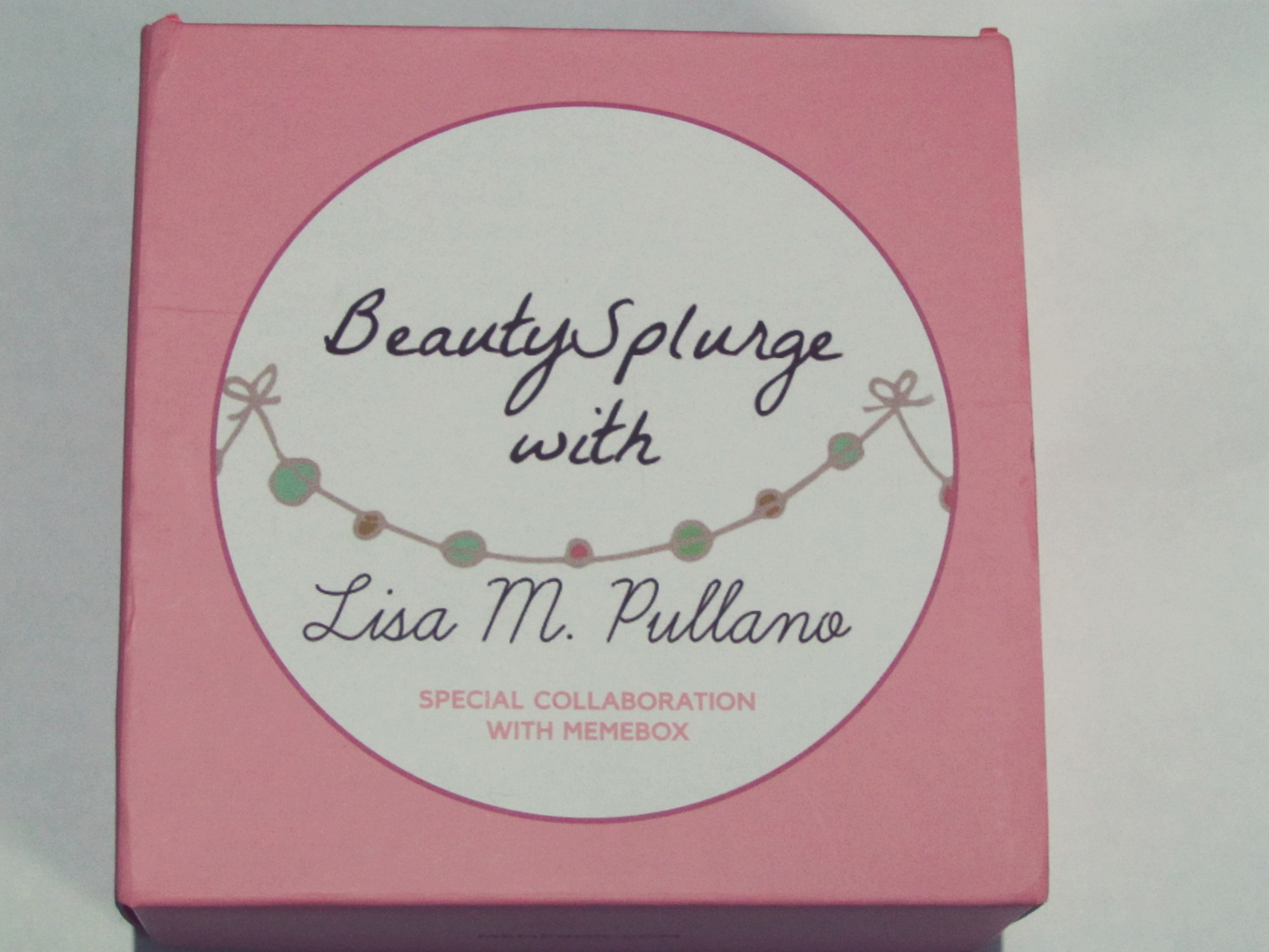 Collaboration Box #5 Memebox X Beauty Splurge With Lisa Pullano Unboxing