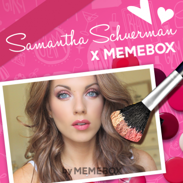 Collaboration Box #8 Memebox X Samantha Schuerman