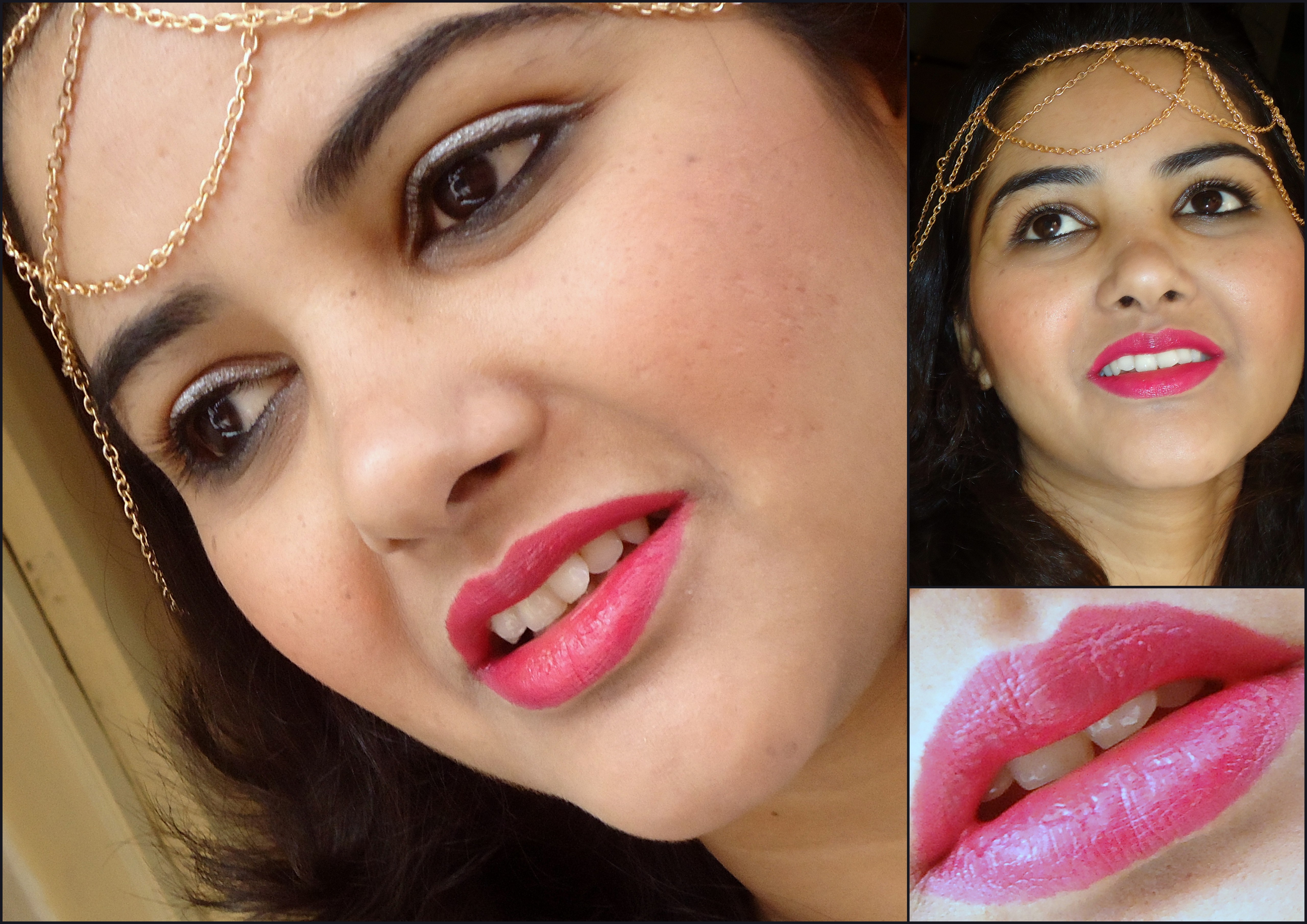 L'Oreal Le Rouge Infallible, Forever Fuchsia review & swatches