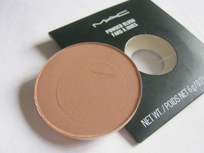 "MAC Matte Powder Blush ""Harmony""- Review and Swatches"