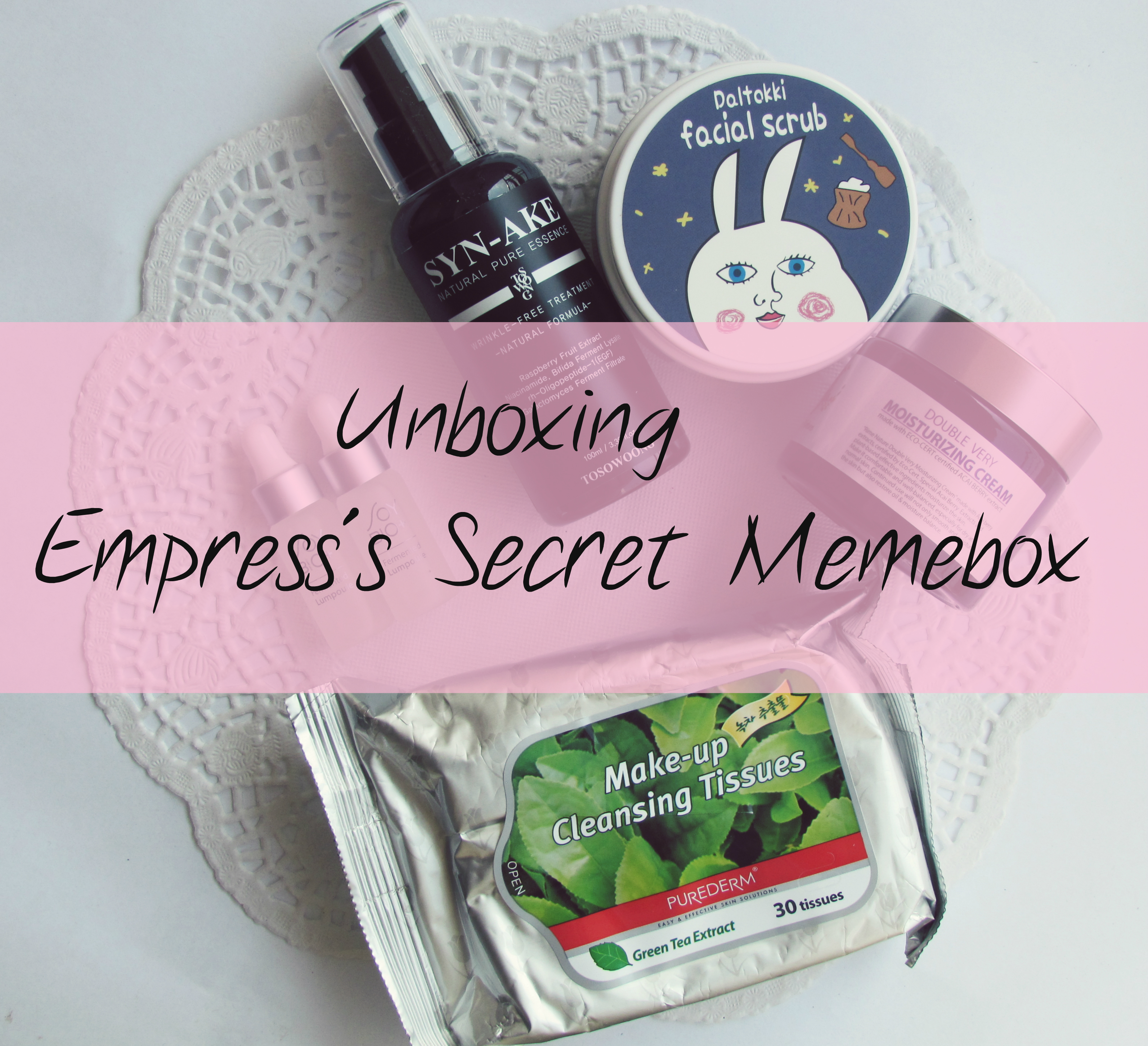 Memebox Special #76 The Empress's Secrets Box Unboxing