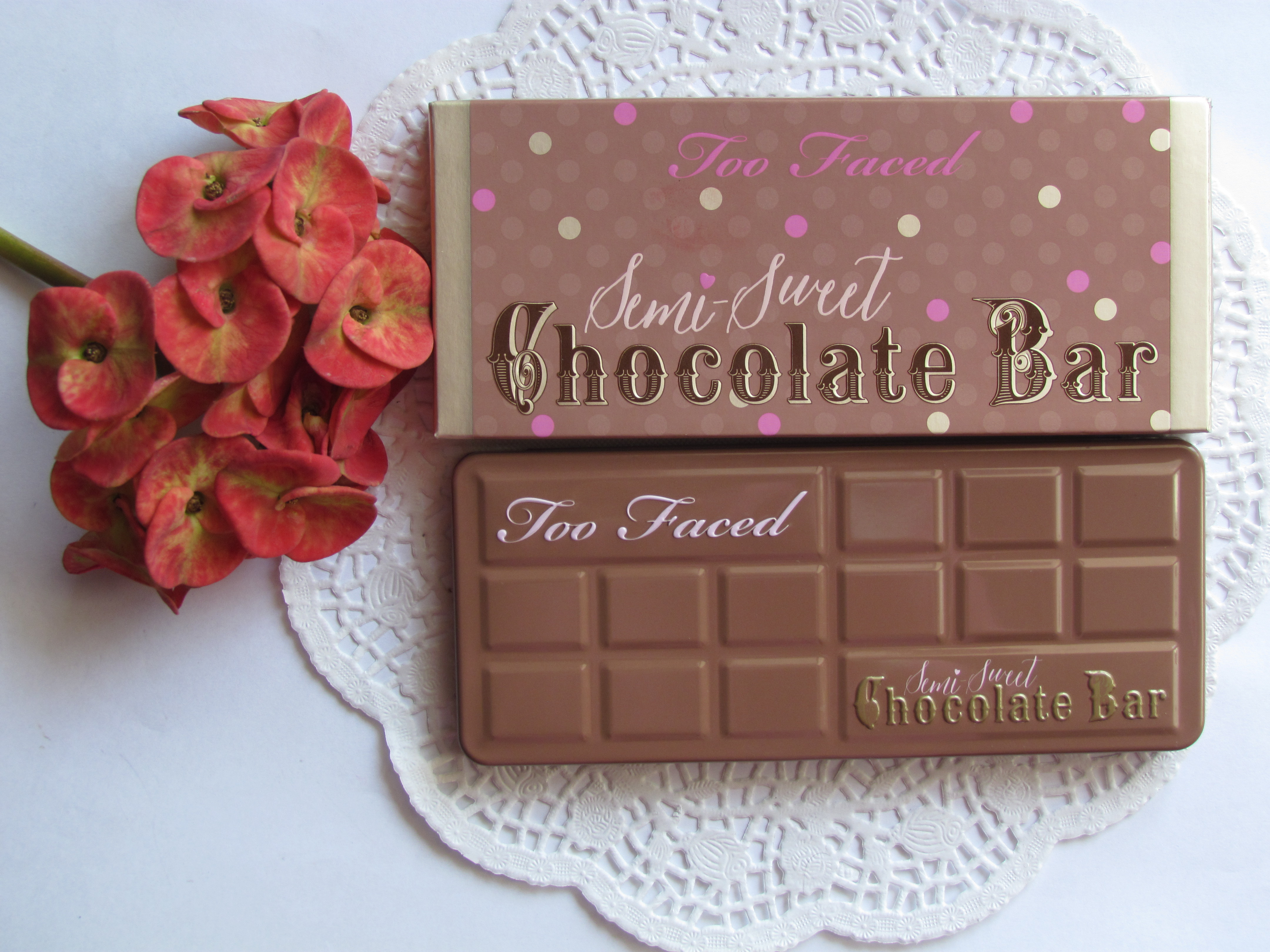 Too Faced Semi-Sweet Chocolate Bar Palette Review