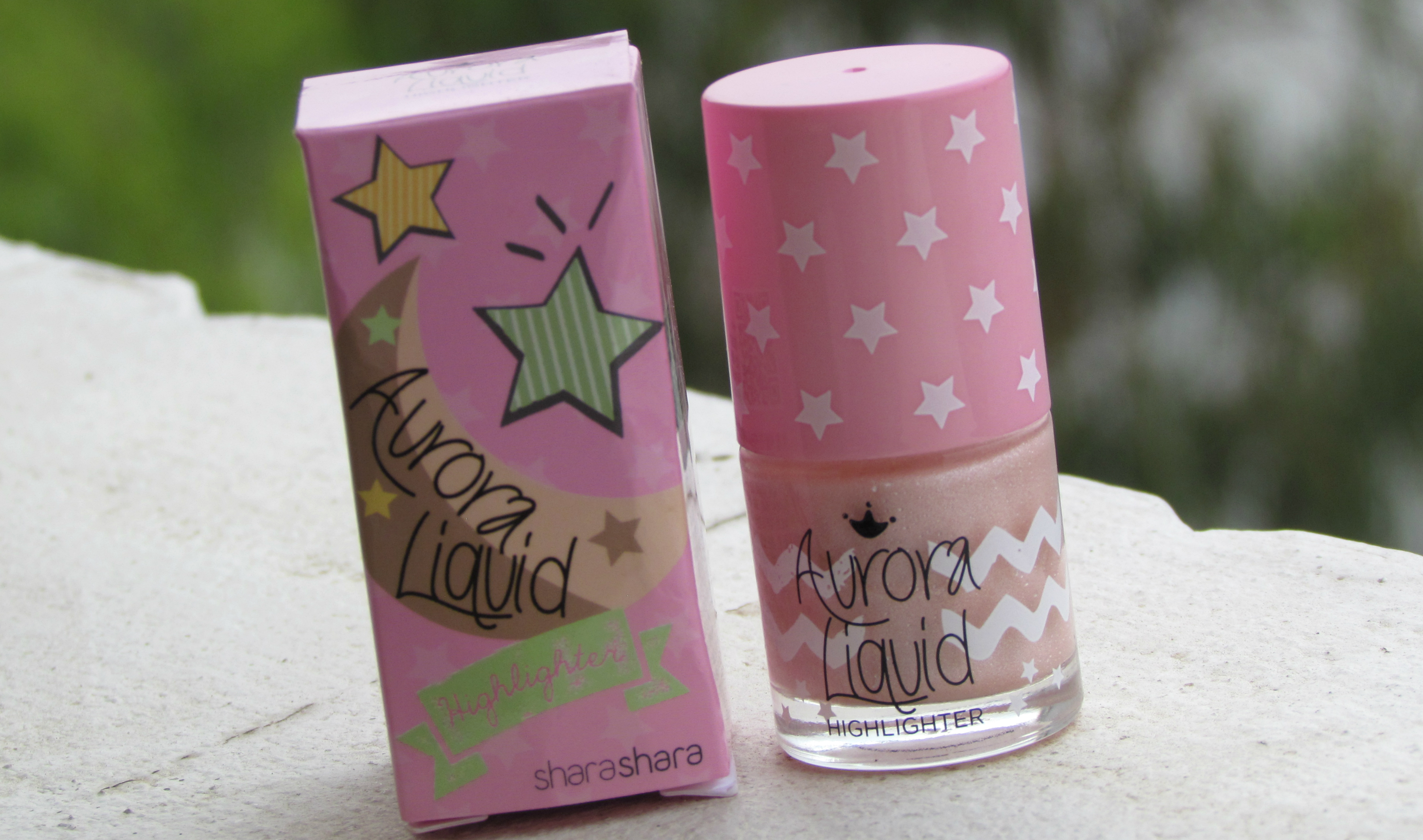 Shara Shara Aurora Liquid Highlighter : Shade # 1, Pink