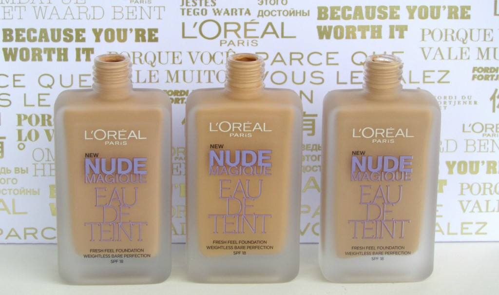 Loreal Nude Magique Eau De Teint Foundation Review Makeupholic
