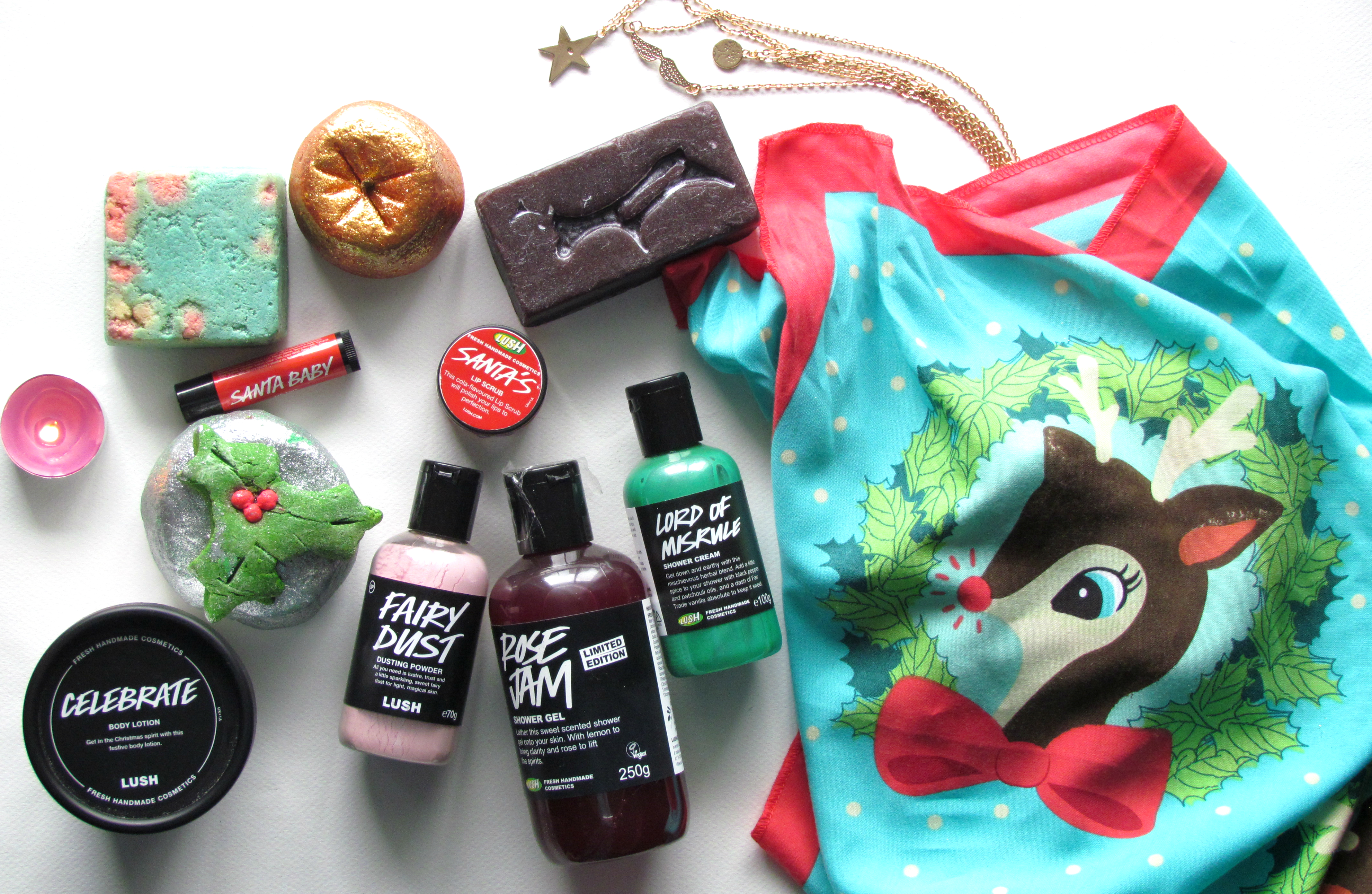 LUSH Christmas Collection 2015 |Products, Price List, Launch Date etc