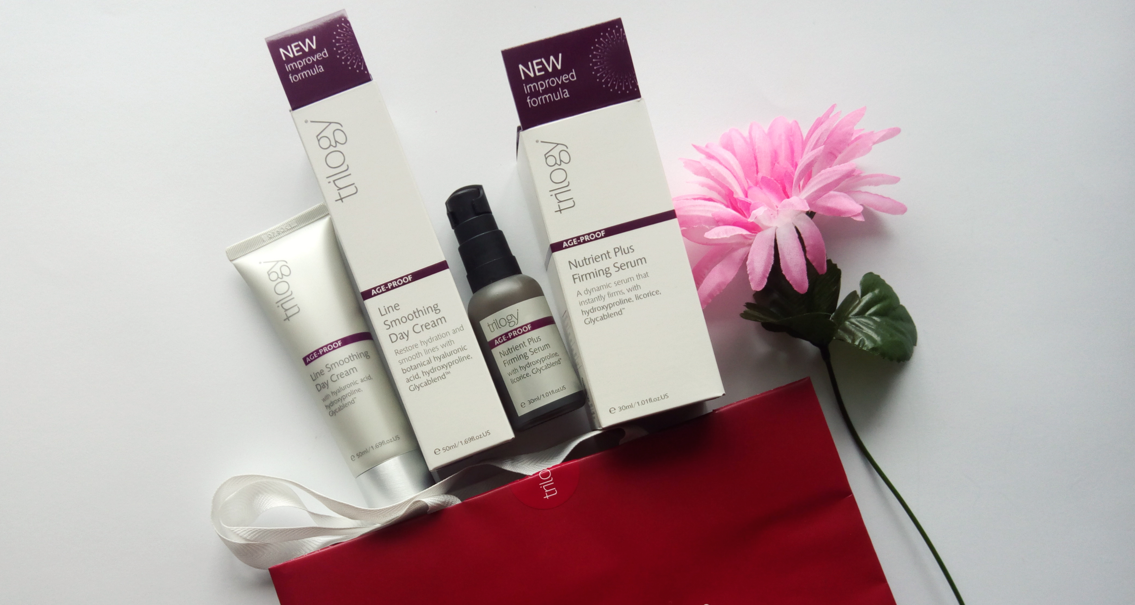 Trilogy Age-Proof Nutrient Plus Firming Serum &  Line Smoothing Day Cream