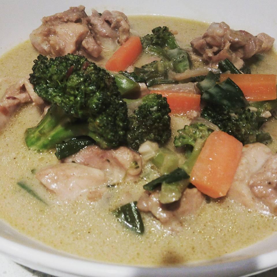 Thai Green Chicken Curry | Recipe