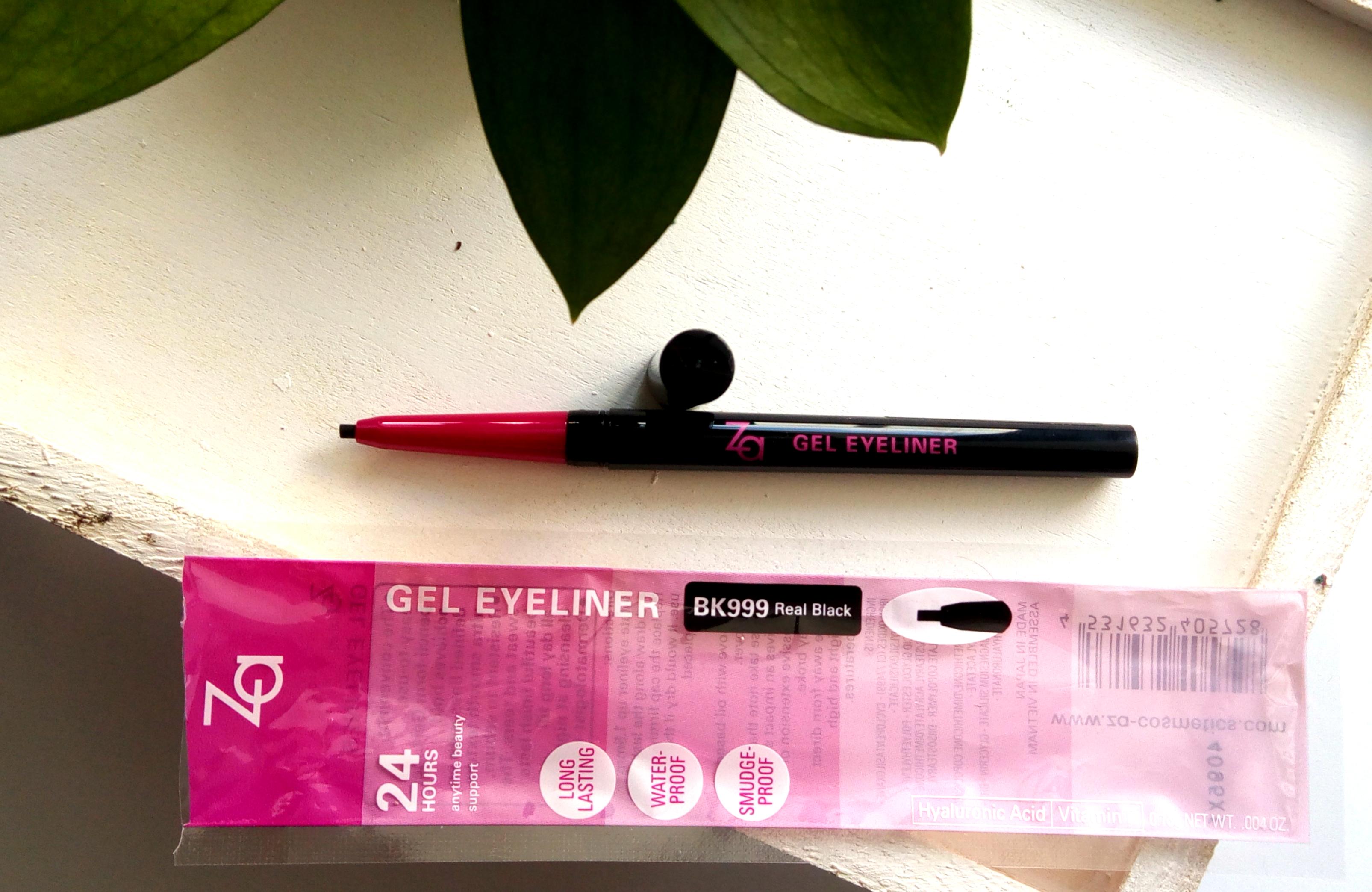 Za Cosmetics Gel Eyeliner | Review