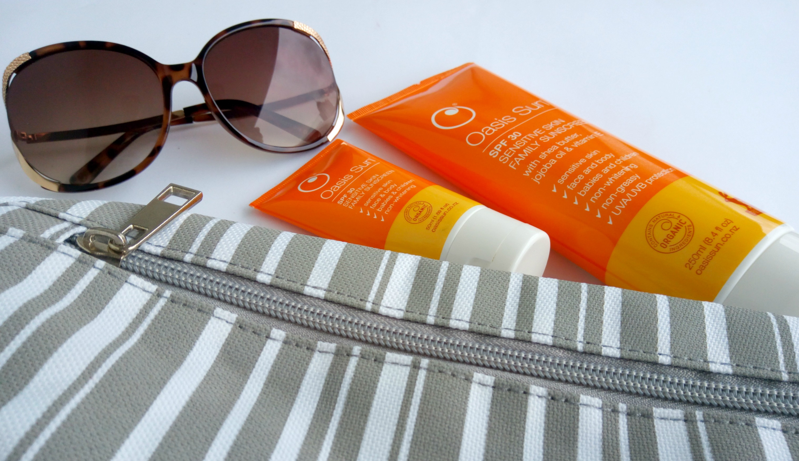 Oasis Sun SPF30 Sensitive Skin Family Sunscreen