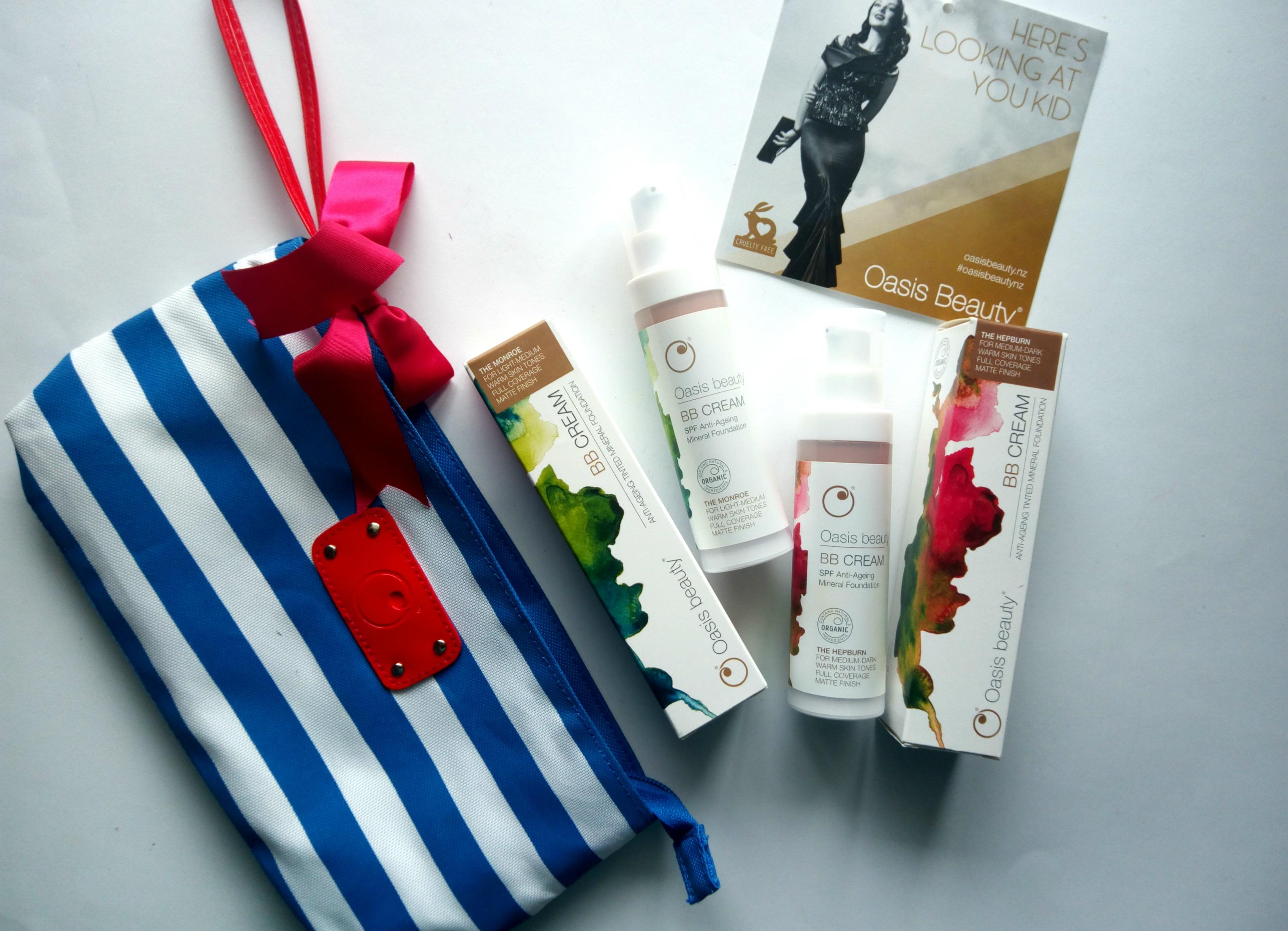 Oasis Beauty BB Creams – Monroe & Hepburn|Review & Swatches