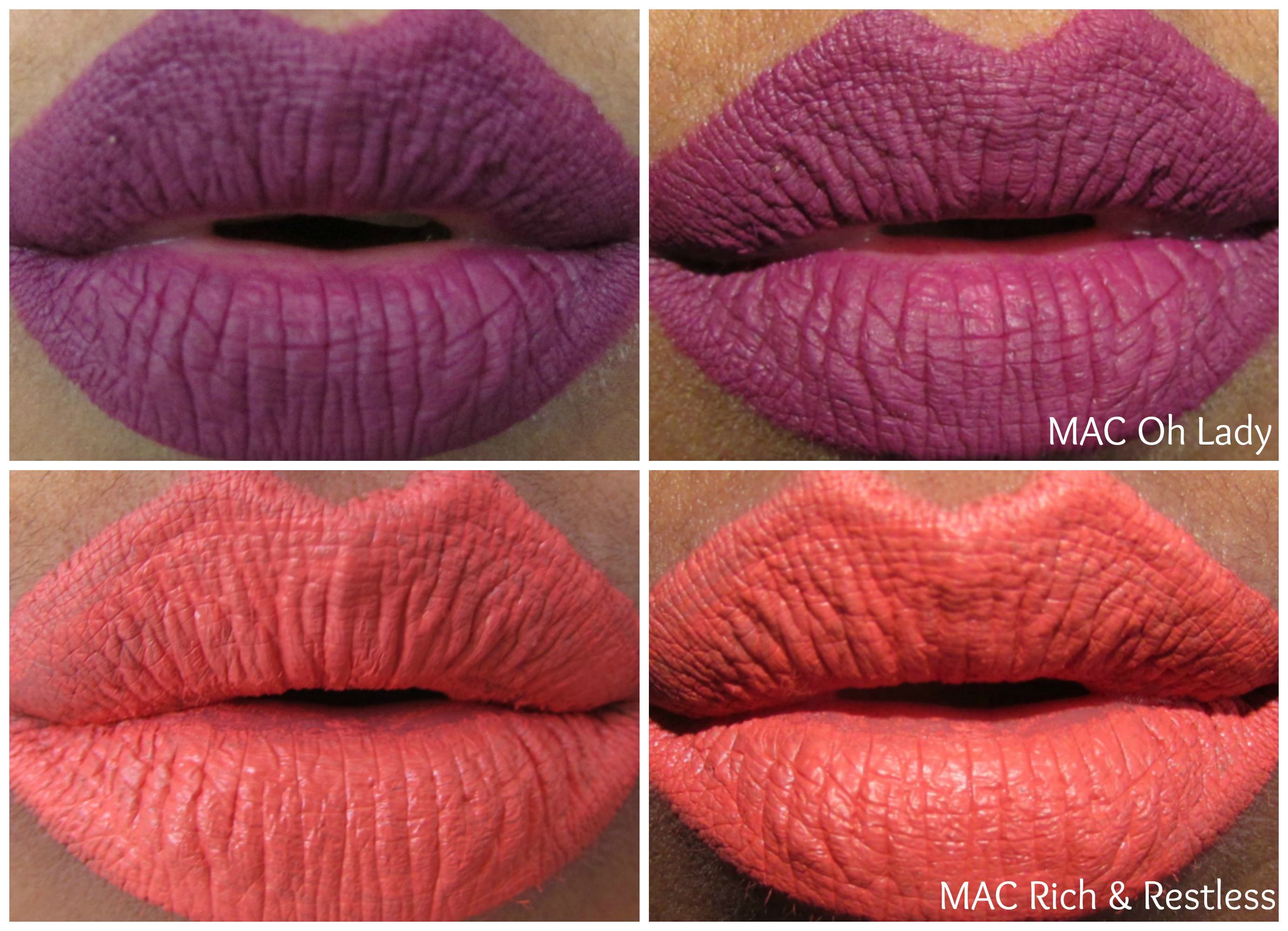 M∙A∙C RETRO MATTE LIQUID LIPCOLOUR – OH LADY, RICH & RESTLESS | REVIEW