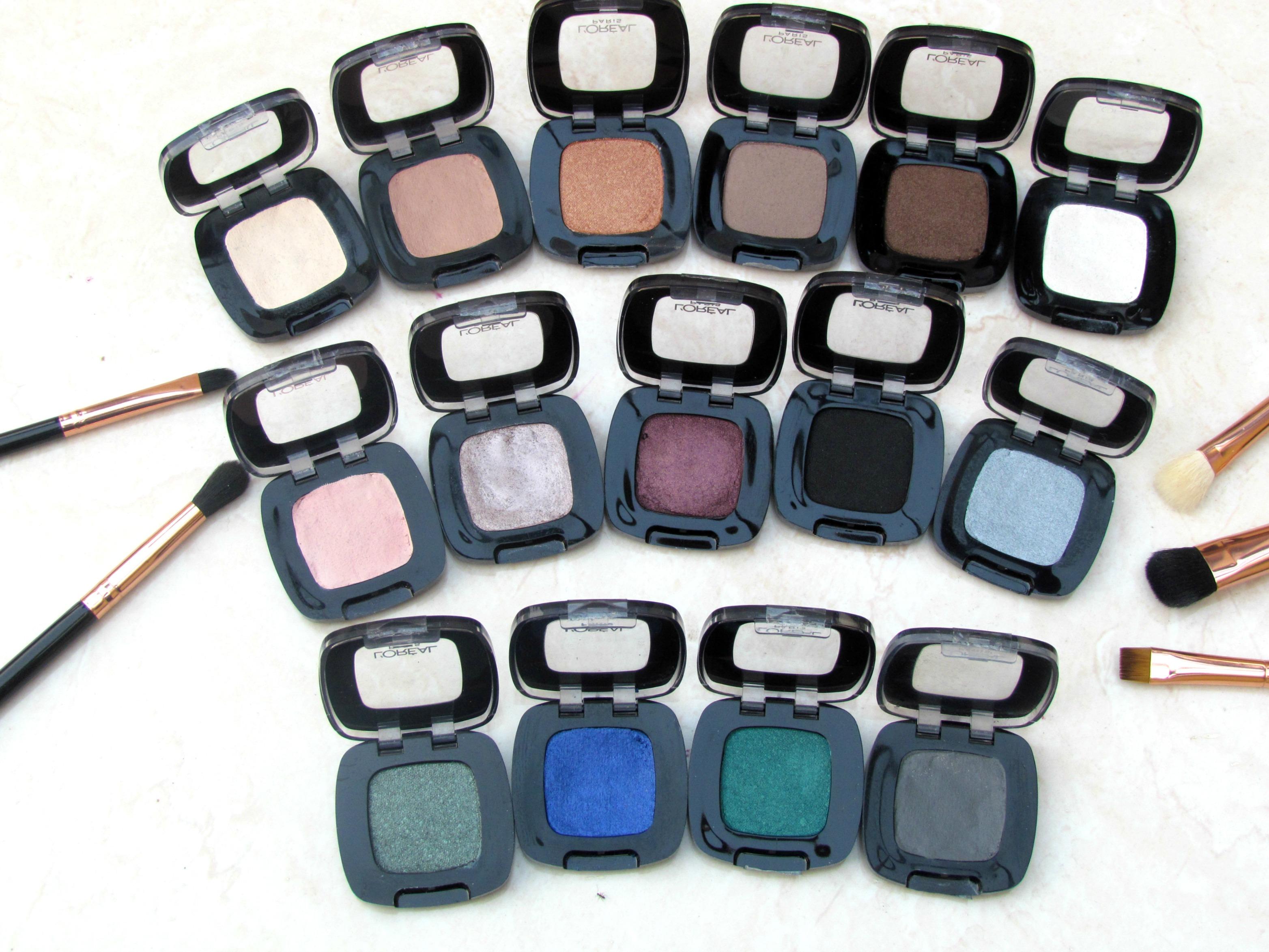 L'Oréal Paris Colour Riche Monos Eye Shadows | Review & Swatches
