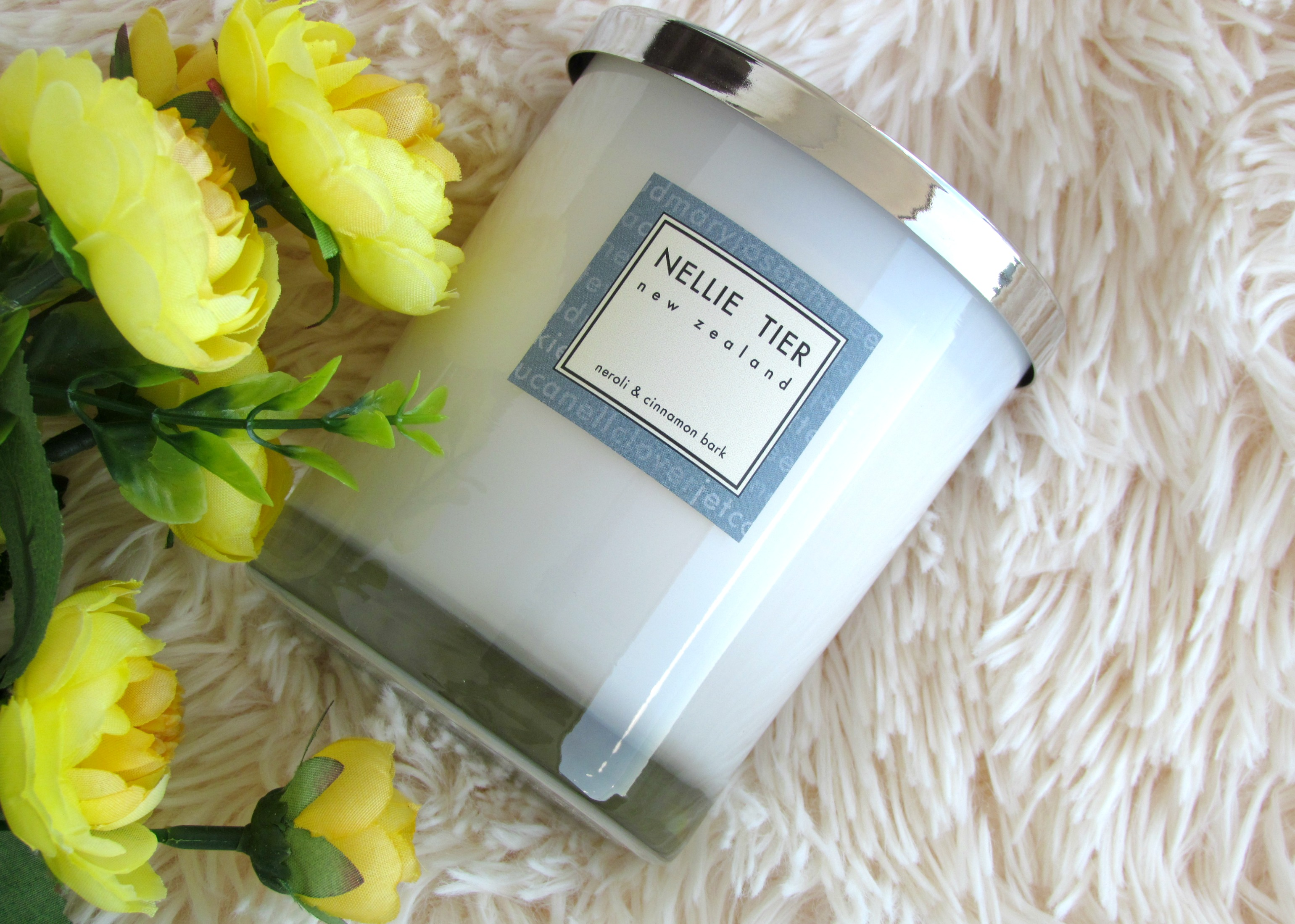 Nellie Tier Candle – Neroli & Cinnamon Bark