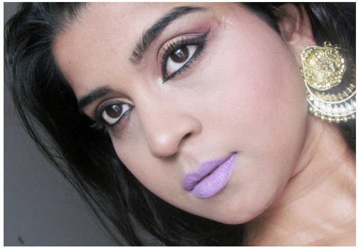 Aishwarya Rai bachan Purple Lips